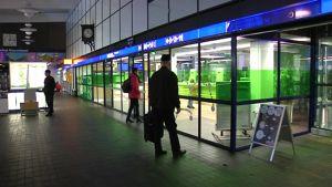VR:n lipputoimisto Kouvolassa