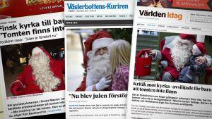Otteita ruotsalaisista lehdistä