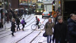 Helsinki katukuvaa