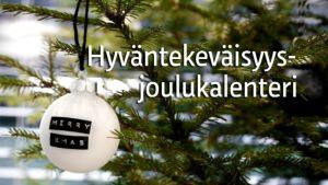 Yle Lounais-Suomen joulalenteritunnus