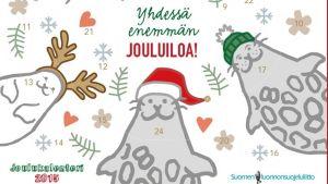 Suomen luonnonsuojeluliiton sähköinern joulukalenteri