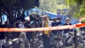 Lentoturmassa kuoli toistakymmentä ihmistä. Ainakin 40 vietiin sairaalahoitoon.