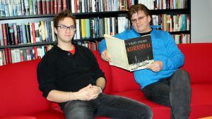 Muusikot Esko ja Tommi Ilonen.