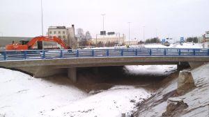 Uusi Vapaudentien alikulkusilta Rovaniemellä.