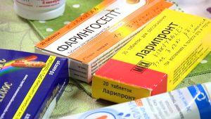 Venäläisiä lääkkeitä.