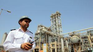 Mahshahrin öljyjalostamo Iranissa.