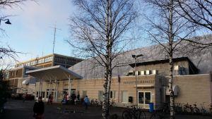 Hipposhalli Jyväskylässä.