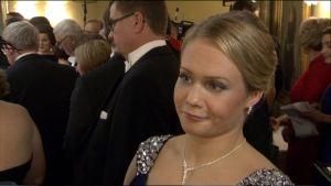 Petra Olli Itsenäisyyspäivänä 2015.