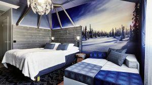Rovaniemen Sokos Hotel Vaakunan uusi Napapiiri-teemahuone