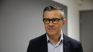 Helsingin humepoliisin päällikkö Jukka Paasio.