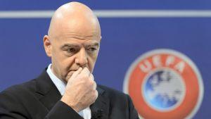 Uefan pääsihteeri Gianni Infantino