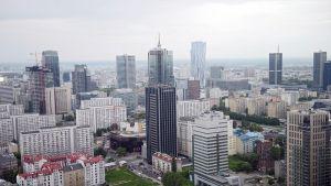 Varsovan kaupunki.