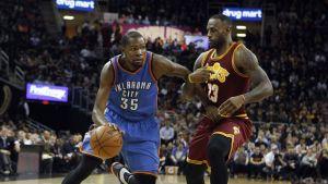 Kevin Durant ja LeBron James