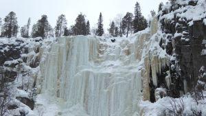 Korouoma jääputoukset vuoden retkikohde