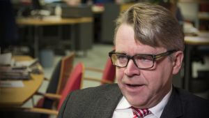 Kristillisdemokraattien kansanedustaja Peter Östman
