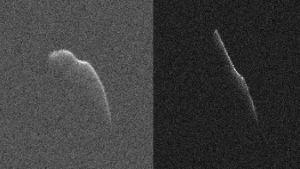NASAn julkaisemia kuvia asteroidista.