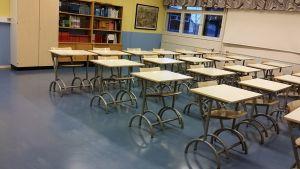 pulpetteja koululuokassa