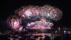 Ilotulitusta Sydneyssä