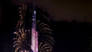 Burj Khalifa Dubaissa 31.joulukuuta 2015.