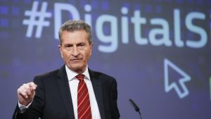 Gunther Oettinger.