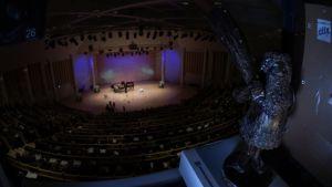 Lappeenrannan laulukilpailuiden konserttisali.