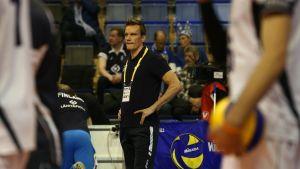 Suomen päävalmentaja Tuomas Sammelvuo