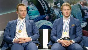 Kaapo Kähkönen ja Kasper Björkqvist