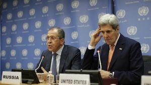 Turvallisuusneuvosto hyväksyi Syyrian rauhanprosessia koskevan päätöslauselman 18. joulukuuta 2015.