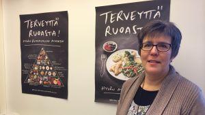 Tampereen kaupungin vastaava ravitsemusterapeutti Liisa Kalttila