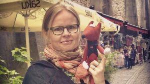 Kirjailija Mervi Heikkilä