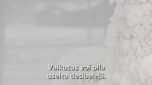 Aloituskuva lumi-videoon.