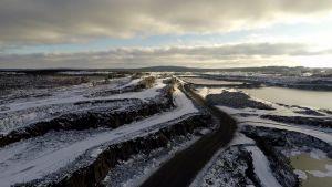 ilmakuvaa kaivosalueesta