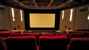 Elokuvateatteri Maximin sali.