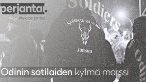 Perjantai-dokkarissa marssitaan Odinin sotilaiden perässä läpi Joensuun yön.