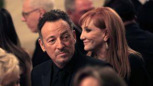 Bruce Springsteen ja vaimo Patti Scialfal