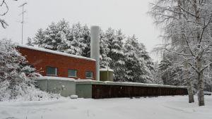 Stora Enso vanha lämpökeskus Kemijärvi