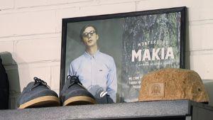 Makia-vaatemerkin myymälä.