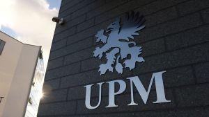 Metsäteollisuusyhtiö UPM:n logo.