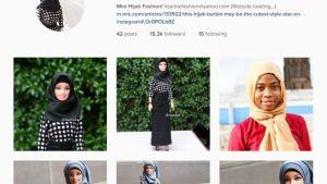 Haneefah Adam on perustanut hijarbie-tilin Instagramiin.
