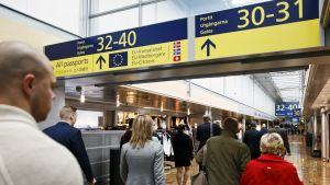 Helsinki-Vantaan lentoasema.