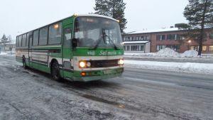 linja-auto, bussi, Salmela, Kemi