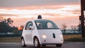 Googlen itseohjautuvan auton prototyyppi.