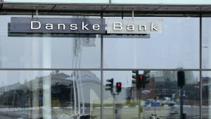 Danske Bankin rakennus Malmössa.
