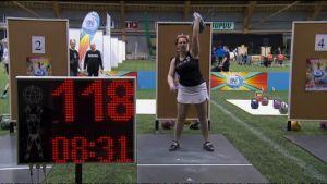 Kirsi Suomela nosti uuden suomen ennätyksen kuva