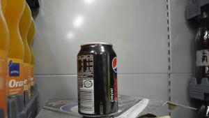 Pepsi-tölkki.