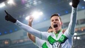 Wolfsburgin Julian Draxler