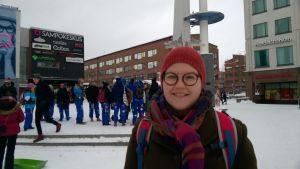 Julia Petäjä SOOL:in pääsihteeri talvipäivät Rovaniemellä