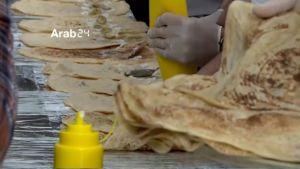 Maailman pisin voileipä valmistui Erbilissä Irakissa.