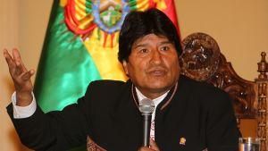 Bolivian presidentti Evo Morales.