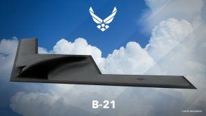 Stealth Bomber B-21.